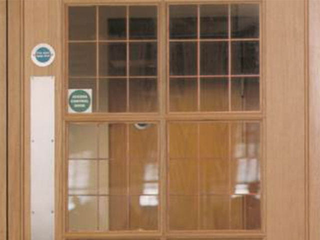 Q-Mark fire door manufacture 640x480